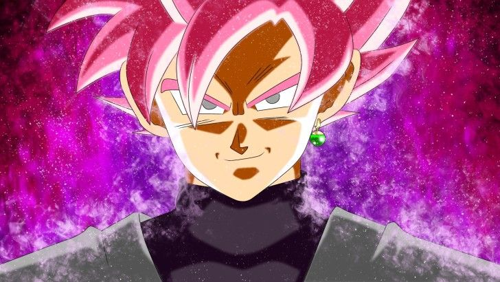 Goku Black Super Saiyan Rose Wallpaper Papel de parede