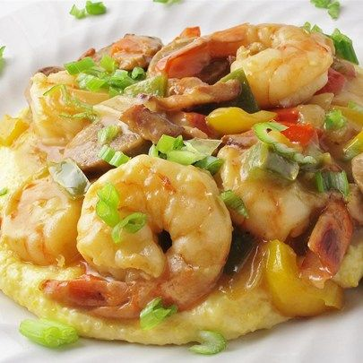 "Old Charleston Style Shrimp and Grits I ""Wow! Made this for my husband and he devoured it....said it was the best dish I have ever made. This is a great recipe and hearty. Loved it!"""
