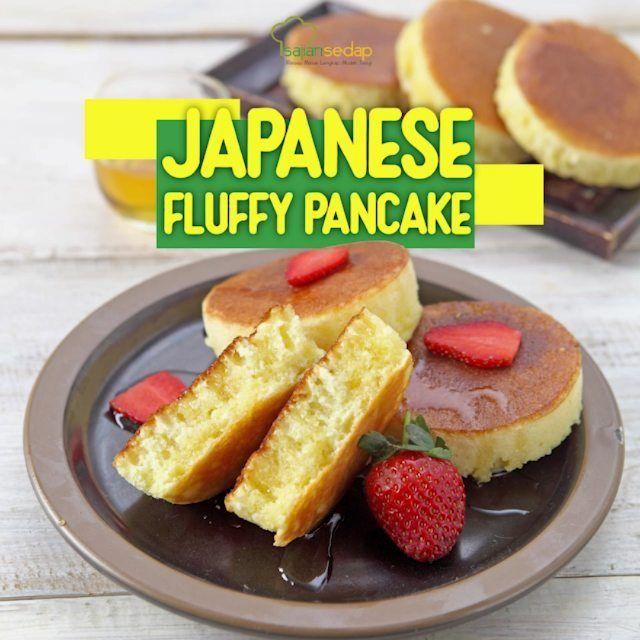 Japanese Fluffy Pancake Mau Cemilan Manis Tapi Bingung Yuk Cek Video Resep Fluffy Cake Cemilan Manis Tanpa Ribet Pasti Disukai Si