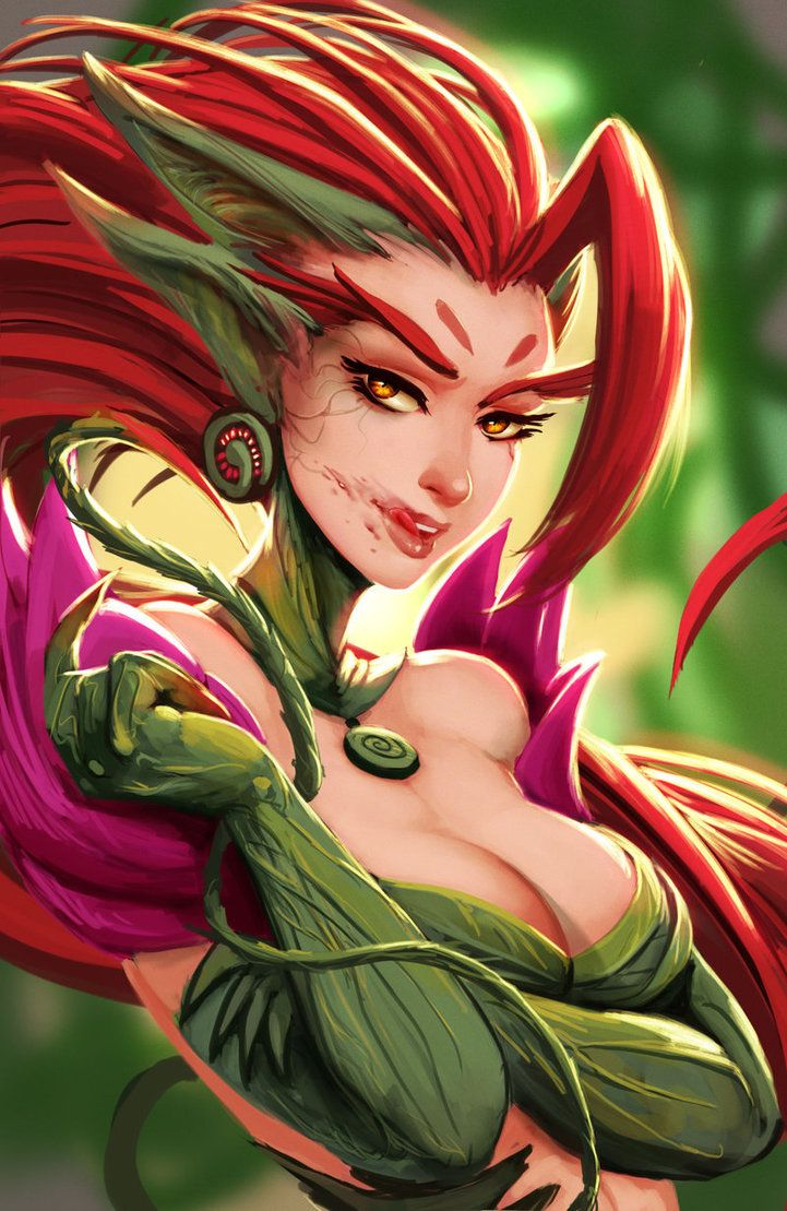 Zyra League of Legends gathered by http://how2win.pl