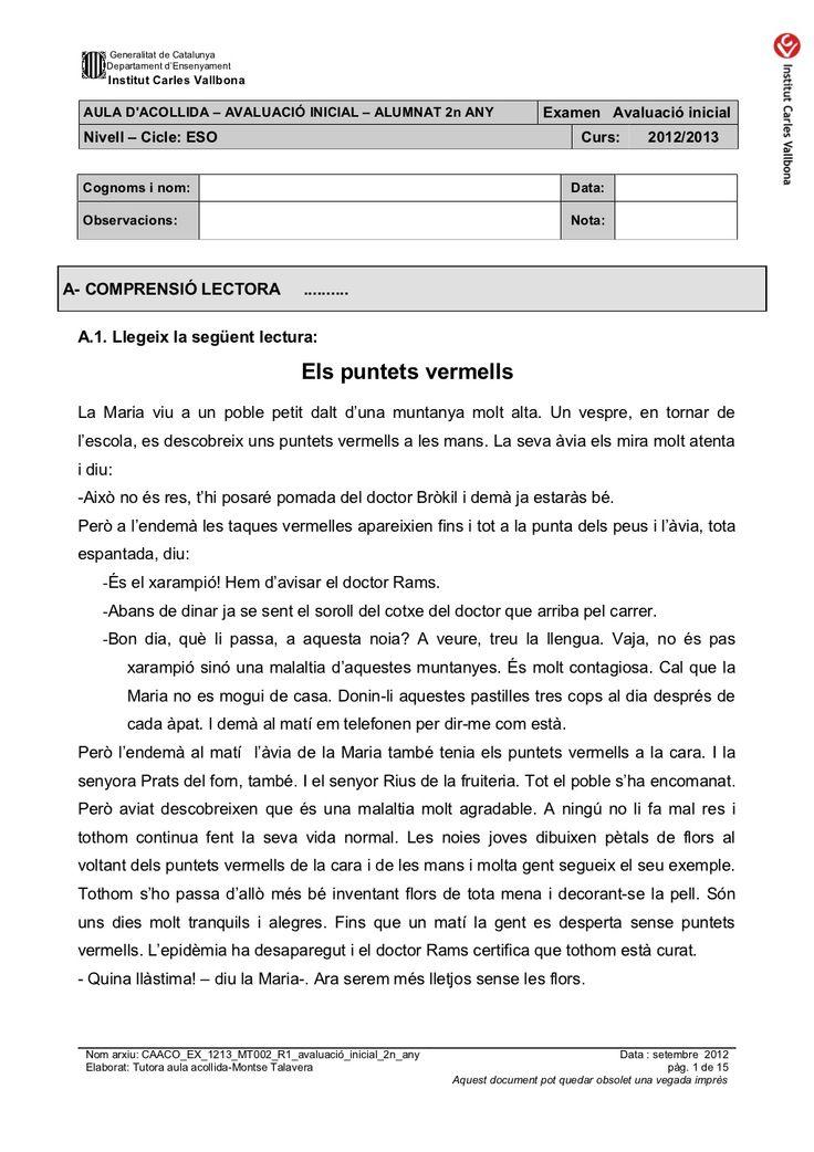 Caaco ex 1213_mt002_r1_avaluacio_inicial_2n_any by mtalaverxtec via slideshare