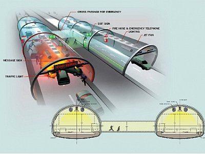 Patong tunnel evacuation plan