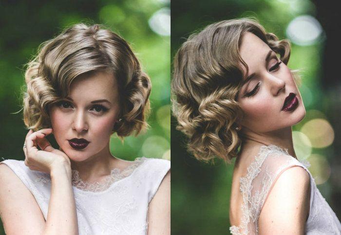 1001 Idees Pour Une Coiffure Mariage Cheveux Courts Les Coiffures Des Invitees Coiffure Mariage Cheveux Courts Modele Coiffure Coiffure Mariage