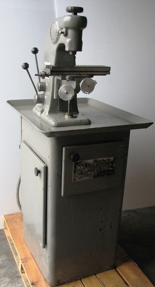 Hardinge Model: BB 2V Vertical Mill. Comes with Collets and endmills. Jewelry / Watchmaker Milling Machine. It is an Hard to Get Machine, Very Rare! | eBay!