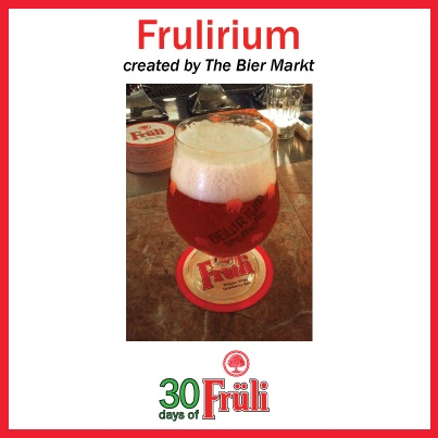 Beer Cocktail: Fruli mixed with Delirium Tremens -created by The Bier Markt
