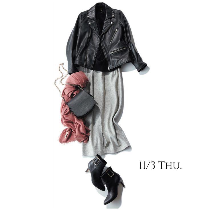 彼と明治神宮へ。これぞ女っぷりと冷え予防を兼ね備えたデート服!Marisol ONLINE|女っぷり上々!40代をもっとキレイに。