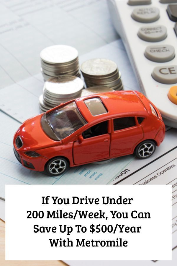 Metromile Offers Pay Per Mile Car Insurance Car Insurance All