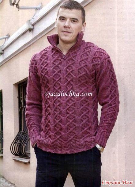 Всем привет! Открываем он-лайн по вязанию мужского свитера!? Меня зовут Ольга…