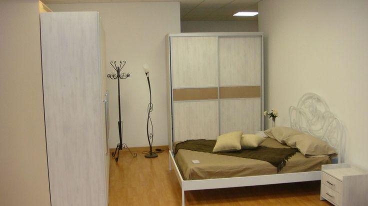 Dulap Dormitor Modern din Mdf cu nuanta de Lemn Alb