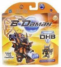 Battle B-Daman Direct Hit Figure: Chrome Zephyr