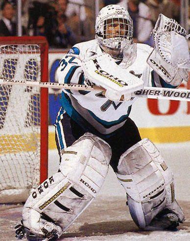 Arturs Irbe, San Jose Sharks.