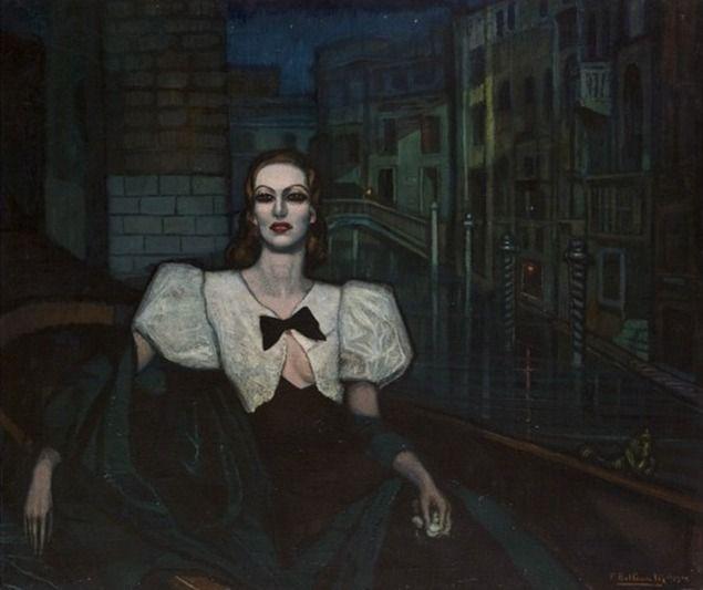 Федерико Бельтран Массес. Мисс Джоан Кроуфорд. 1932