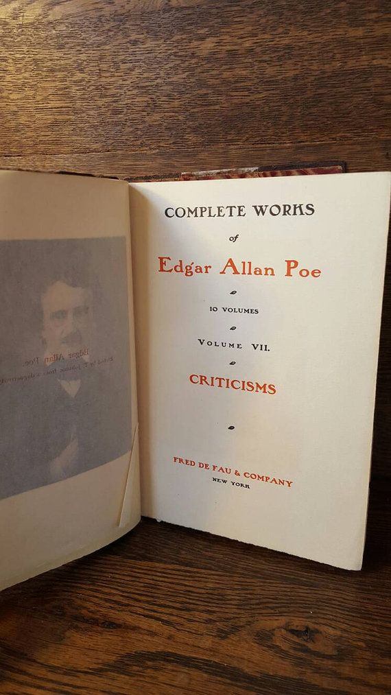 the relation of edgar alan poes work and life The works of the late edgar allan poe: with notices of his life and genius, edited by rufus wilmot griswold, 4 volumes (new york: redfield, 1850-1856) collected works of edgar allan poe, edited by thomas ollive mabbott, 3 volumes (cambridge, mass: belknap press of harvard university press.