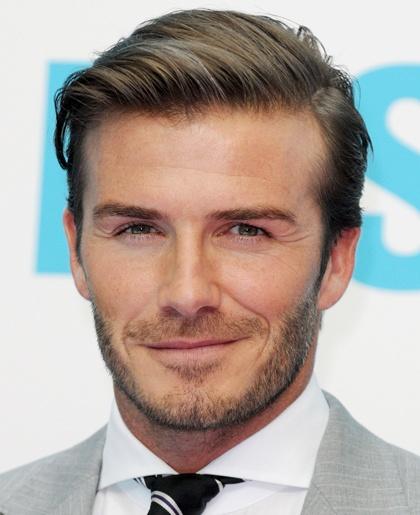 David Beckham Hairstyles From ghd ®   David Beckham's Hair Style