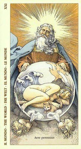 Rebirth Divination Card: 42 Best Vintage Tarot Decks Images On Pinterest