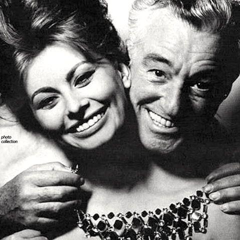 Famous Italians ~ Sofia and Vittorio DiSicca