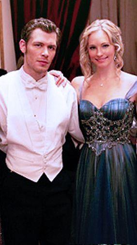 Candice Accola And Joseph Morgan 2013