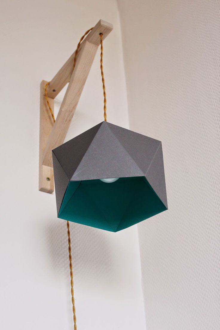 Le Chat à plumes: DIY // Lampe Geoball