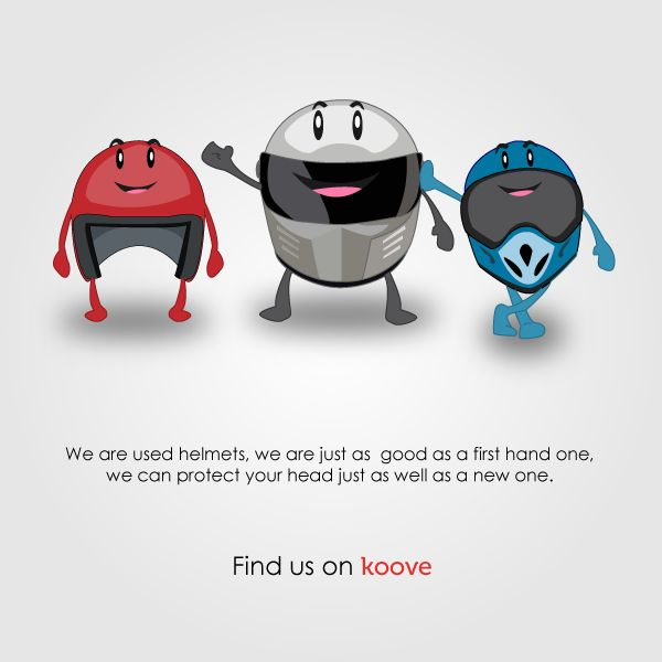 Save yourself ! Buy a helmet now ! #shopping