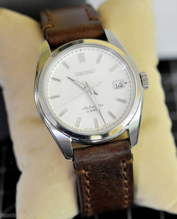 seiko sarb035 automatic dress on vintage leather