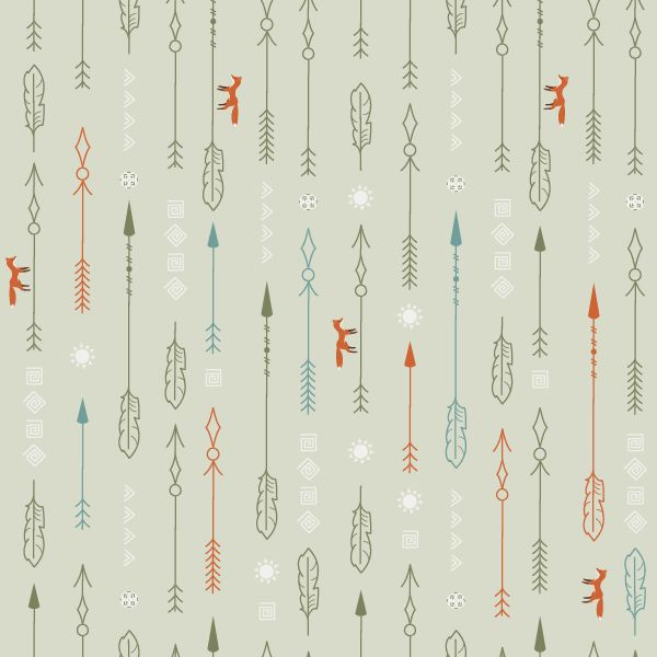 Adobe Illustrator Tutorial - How to Create A Nature Inspired Arrow Pattern in Adobe Illustrator by Nataliya Dolotko at tutsplus.com