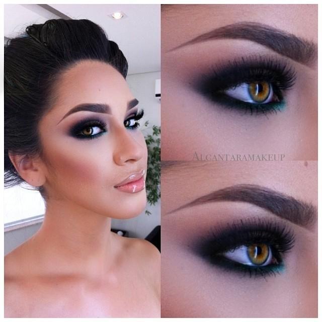 Smoky eyes   #makeup