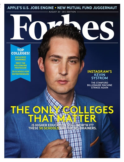 Instagram's Kevin Systrom: The Stanford Millionaire Machine Strikes Again
