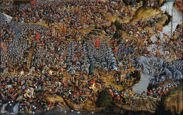 Bitwa pod Orszą, anonim, 1530-35r.