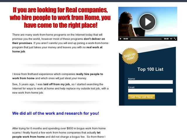 work from home companies top 100 real work from home companies review this is 30772