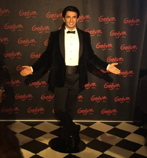 Ranveer Singh's wax statue unveiled at the Grevin Museum in Paris #FansnStars