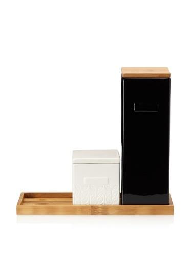 55% OFF CULT DESIGN Box Leaf Kitchen Set, White