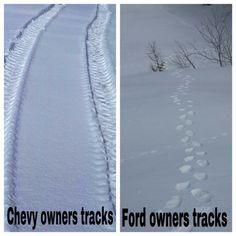 Chevy vs. Ford jokes