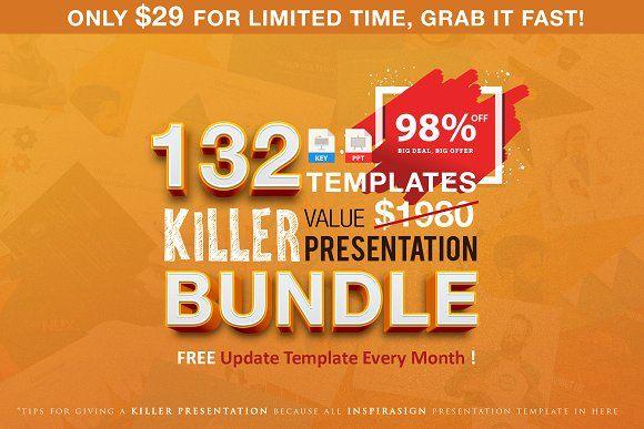 Killer Presentation + Free Update by inspirasign on @creativemarket
