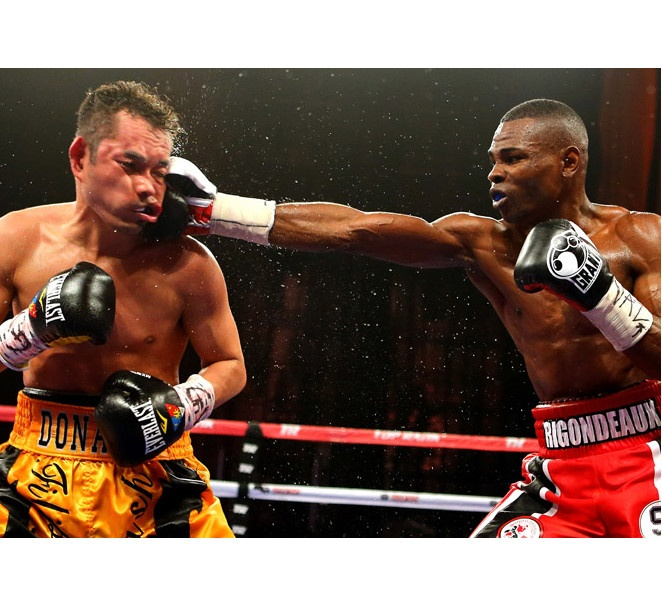Nonito Donaire was outpunched by Guillermo Rigondeaux all night long in Saturdays super bantamweight fight.