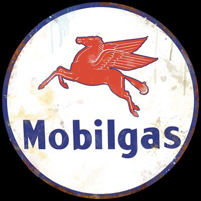 Vintage Gas Station Signs | Mobil Station Vintage Style Sign Vintage Gas - Oil Signs For Sale ...