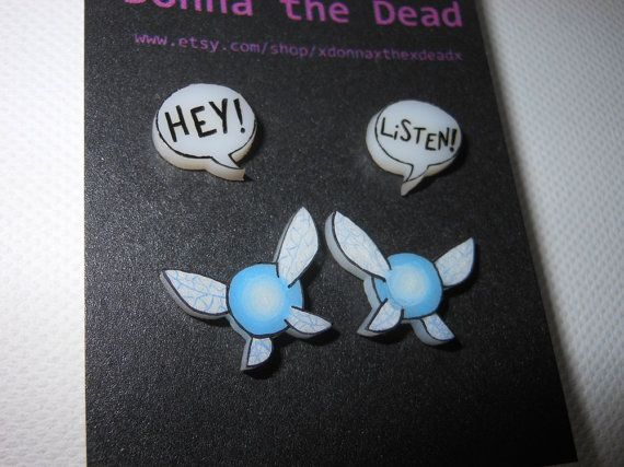 WANT!!!  I knew there was a reason I got my seconds done all those years ago.  Navi Earrings by Donna the Dead
