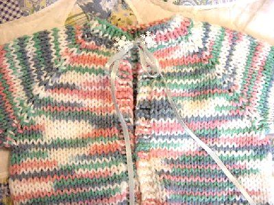 One Piece Baby Sweater Knit And Crochet Baby Cardigan Knitting