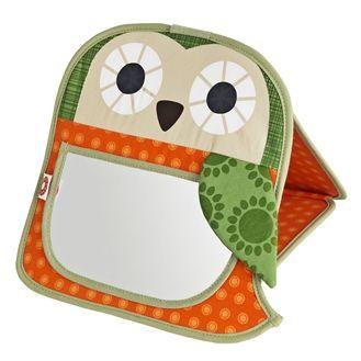 Super fint spejl til n�r baby skal op p� armene og se sig selv, eller bare beundre sig selv i spejlet. Hurtig dag-til-dag levering.