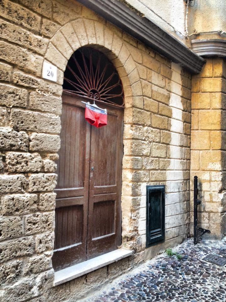 Alghero Old Town A real italian man house :))