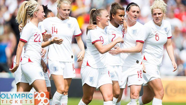 Olympics 2020 Team Gb Qualify For Women S Football Tournament Olympic Football Football Tournament Womens Football