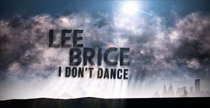 Lee Brice - I Don't Dance (Official Lyric Video) This is the song we are gonna dance to at our wedding