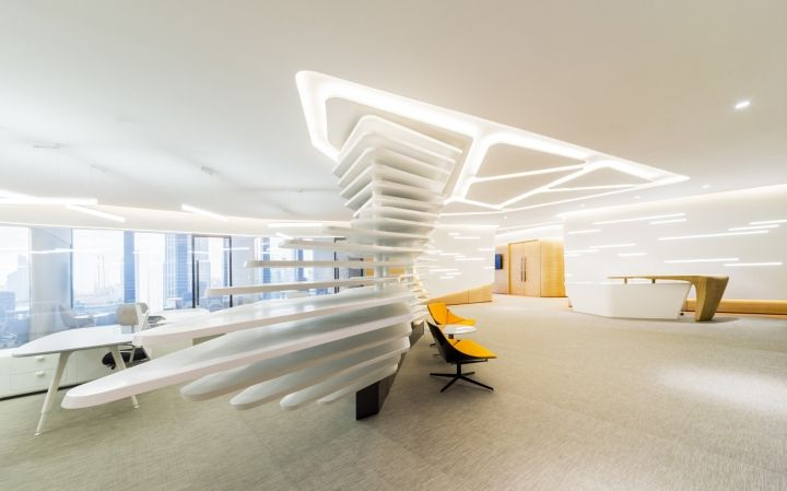 429 best images about office interiors on pinterest for Design office 4100