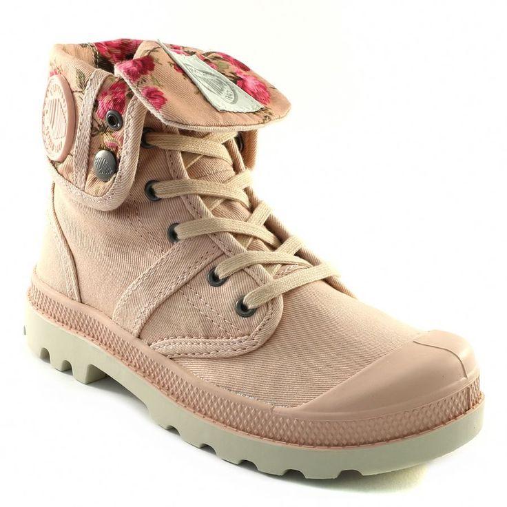 347A PALLADIUM BAGGY TWL ROSE www.ouistiti.shoes le spécialiste internet de la chaussure bébé, enfant, junior et femme collection printemps été 2015