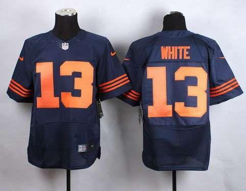 78cd8c3dd 2014 NFL Draft Chicago Bears 23 Kyle Fuller Orange NFL Limited Jersey Mens  Chicago Bears 13 Kevin White 2015 NFL Draft 7th Overall Pick Nike Navy Blue  ...