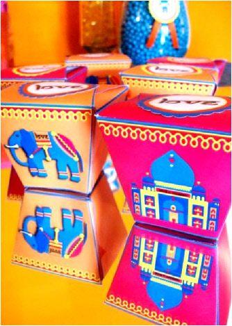 Boites Cadeaux Bollywood - Kit Printables & Décorations DIY à Imprimer
