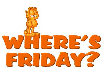 Friday Morning | Garfield Images, Graphics, Comments and Pictures - Myspace, Friendster ...