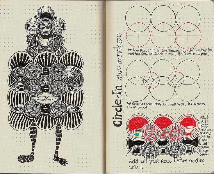 Circle-In: Tangle Pattern