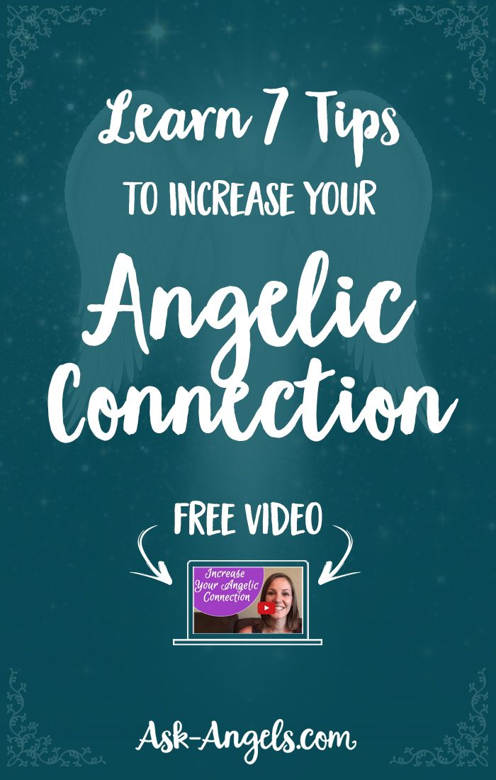 Learn 7 Tips to Increase Your Angelic Connection