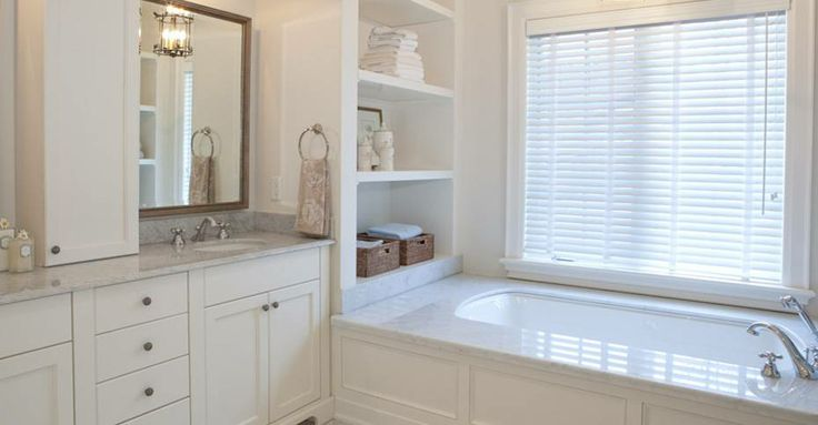 Bathroom Window Covering from Lerner Interiors