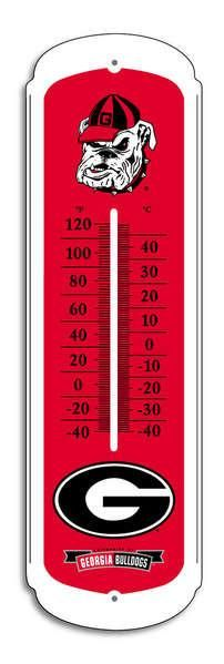 Georgia Bulldogs Outdoor Thermometer - 27""
